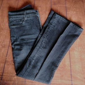 NYDJ Dark Wash Blue Denim Straight Relaxed Jeans 6